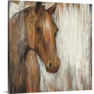 Painted Pony by Liz Jardine Art Print on Canvas