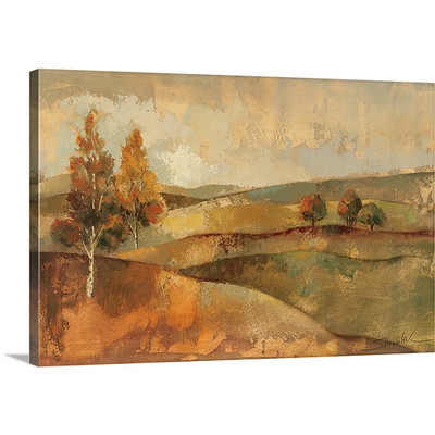 Autumn Hills I by Silvia Vassileva Art Print on Canvas