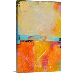 Cocktails and Dreams by Erin Ashley Art Print on Canvas
