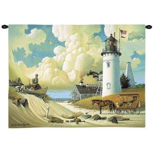 Dreamers by Charles Wysocki | Wall Tapestry | 34 x 26