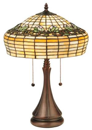 "21.5"" H Duffner & Kimberly Raised Tulip Table Lamp"