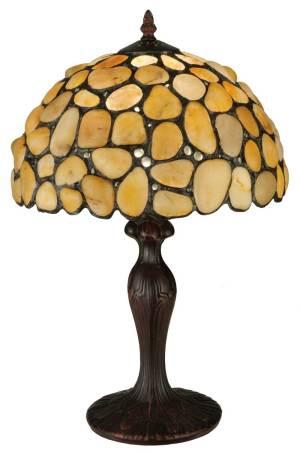 "19.5"" H Jasper Yellow Table Lamp"