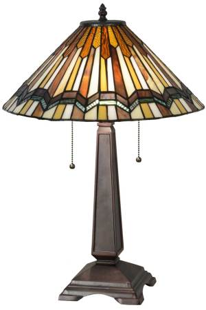 """24"""" H Prairie Delta Table Lamp"""