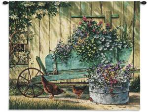 Spring Social Country Wall Hanging | 26 x 32
