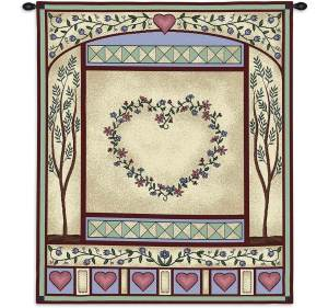 "Love Quilt II | 26"" x 32"" 