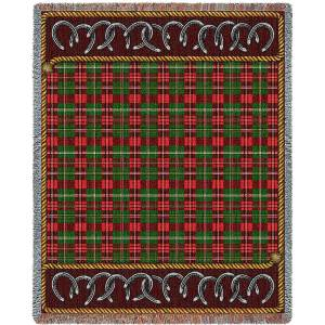 Bridle Path   Tapestry Blanket   54 x 70