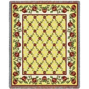 Apple Season | Afghan Blanket