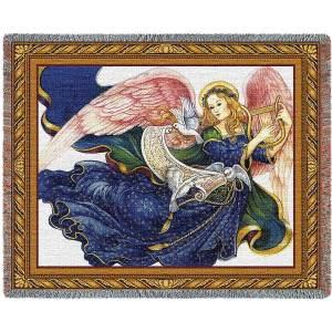 Celestial Grace (Angel) | Afghan Blanket | 54 x 70