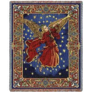Celestial Glory | Christmas Tapestry Blanket | 70 x 53