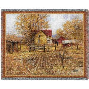 "Homestead | Tapestry Blanket | 54"" x 70"""