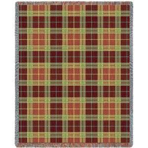 Woods Plaid | Tapestry Blanket | 53 x 70