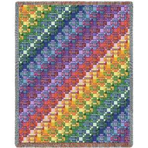 Kaleidoscope   Woven Throw   53 x 70