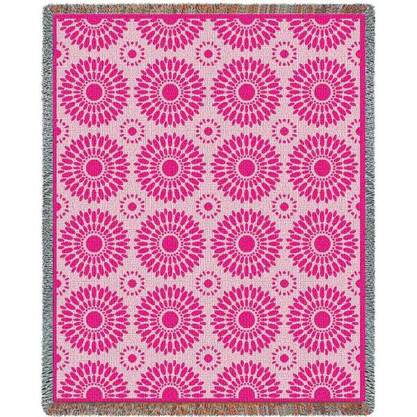 Blossom Pink | Tapestry Blanket | 54 x 70
