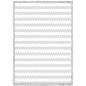 Biltmore Mini White | Afghan | 35 x 48