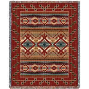 Las Cruces | Southwestern Blanket | 54 x 70