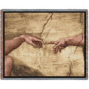 Creation Of Adam Blanket | 70 x 54