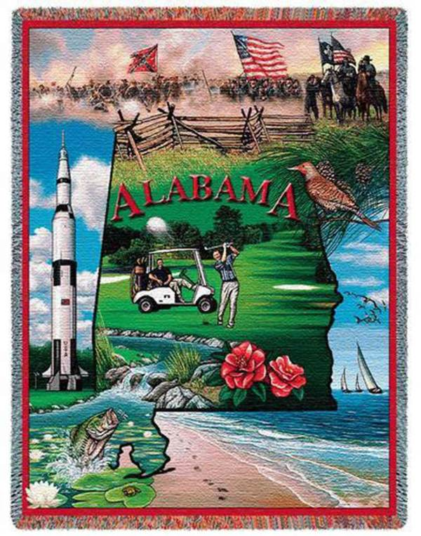 "Alabama | Tapestry Blanket | 54"" x 70"""