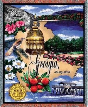 "Georgia | Tapestry Blanket | 54"" x 70"""