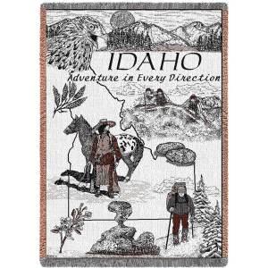 Idaho | Afghan Throw