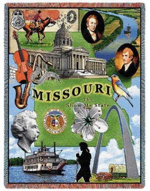 Missouri | Tapestry Blanket | 54 x 70