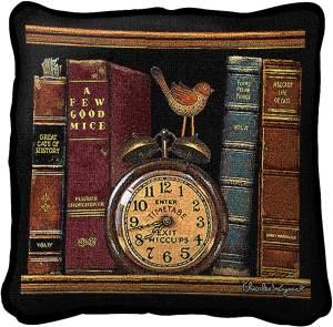 Charles Wysocki | Classic Tails I | Decorative Throw Pillow | 17 x 17