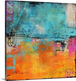 Urban Poetry I by Erin Ashley Art Print on Canvas