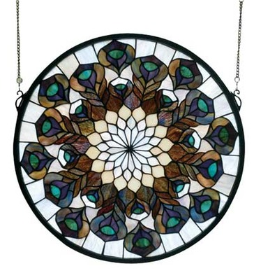 """Peacock Feather Medallion 