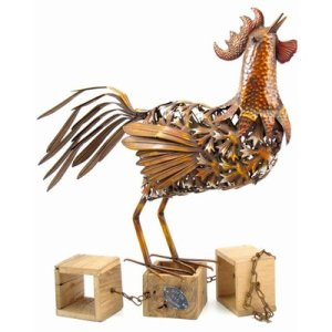 August Grove | Cropsey Rooster Statue