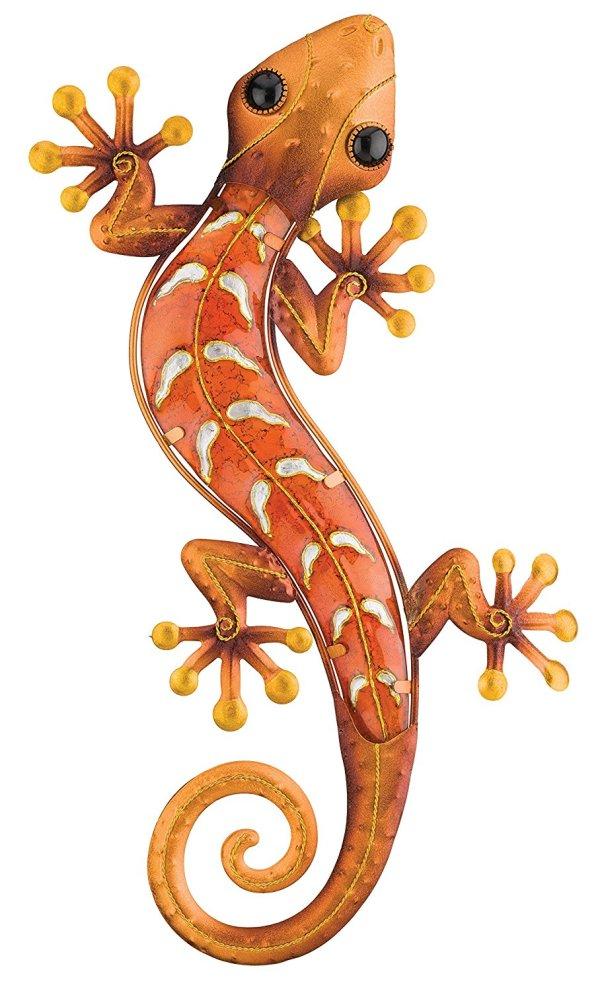 Copper Gecko | Southwestern Metal Wall Art
