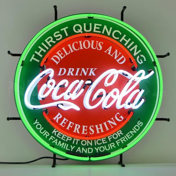 Neonetics Delicious & Refreshing Coca-Cola Retro Neon Sign