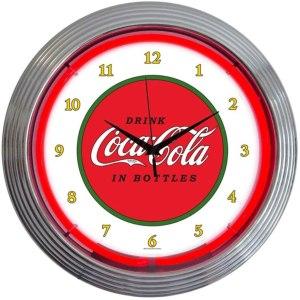 Neonetics Retro Drink Coca-Cola 1910 Classic Neon Clock