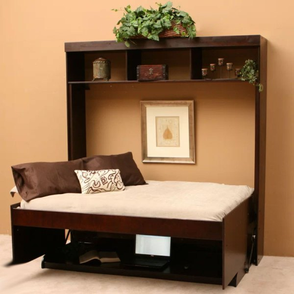 Modern Desk & Murphy Bed Combo
