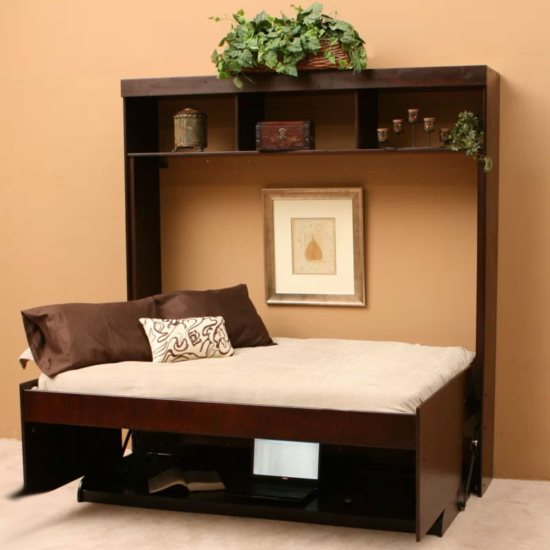 Multipurpose Furniture | Modern Desk & Murphy Bed Combo
