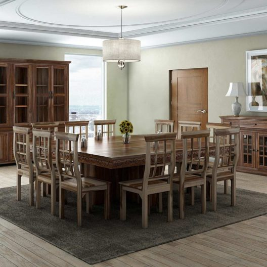 Solid wood furniture | Complete dining room set