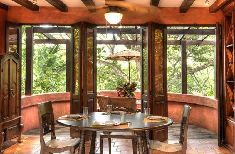 Mel Gibson's $30 Million Costa Rica Jungle Compound: Open Eating Area