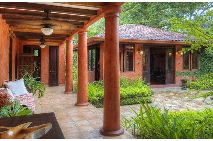 Mel Gibson's $30 Million Costa Rica Jungle Compound: Guest House