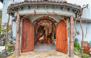 A Unique Entrance to a Unique Home