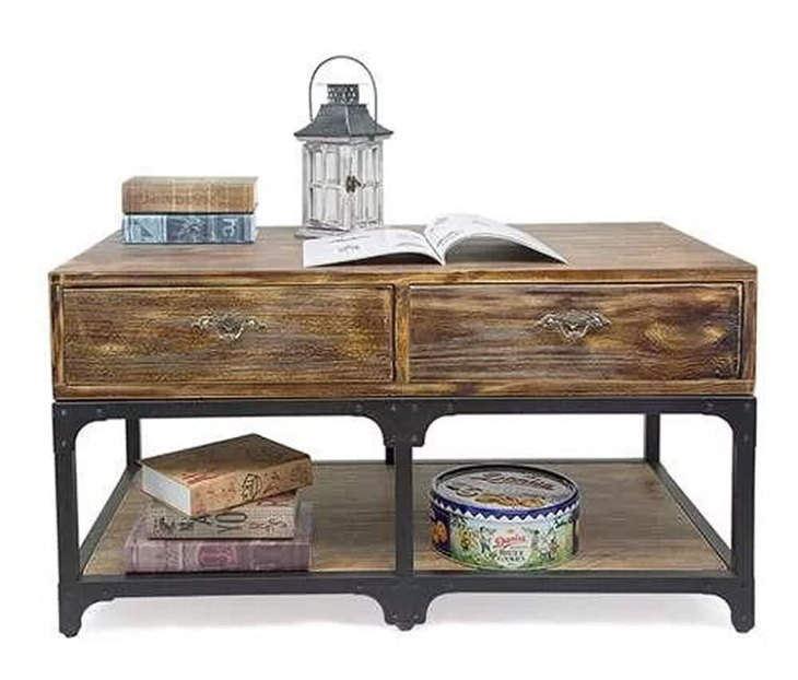 Rustic Wood Coffee Tables | 17 Stories | Eira Coffee Table