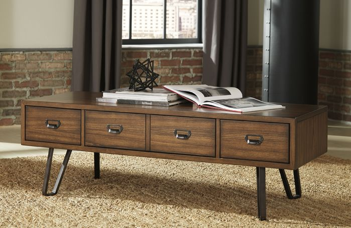 Retro Wooden Coffee Tables   17 Stories   Karmane Coffee Table