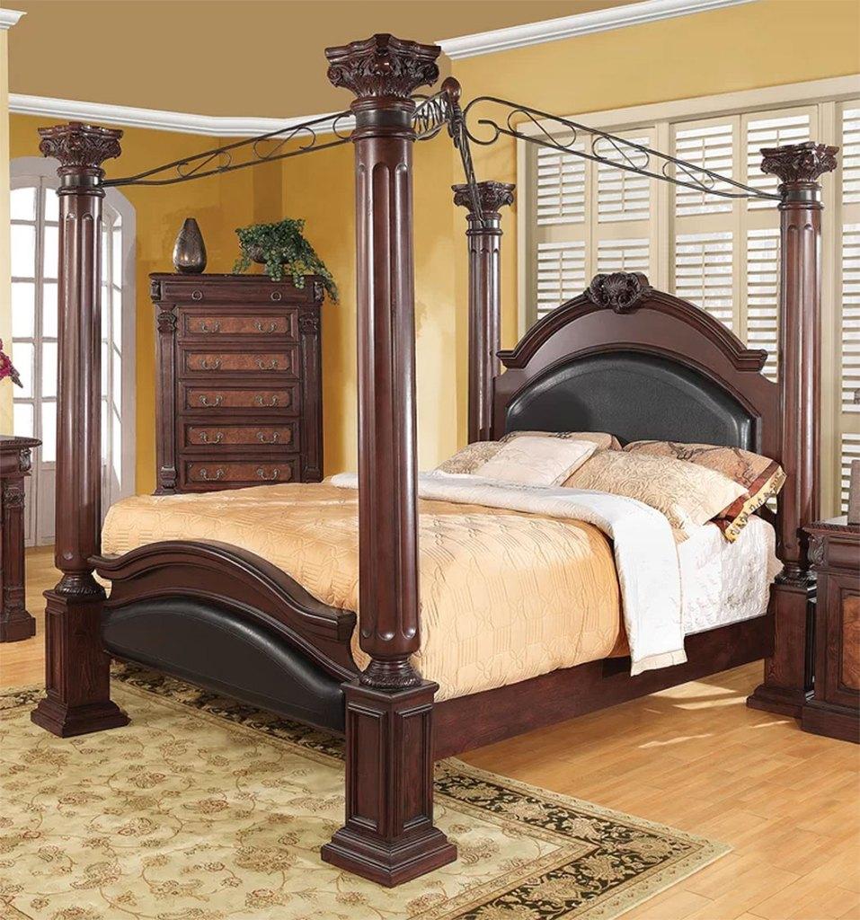 Classically Elegant Canopy Beds  Astoria Grand Fechteler Queen Bed