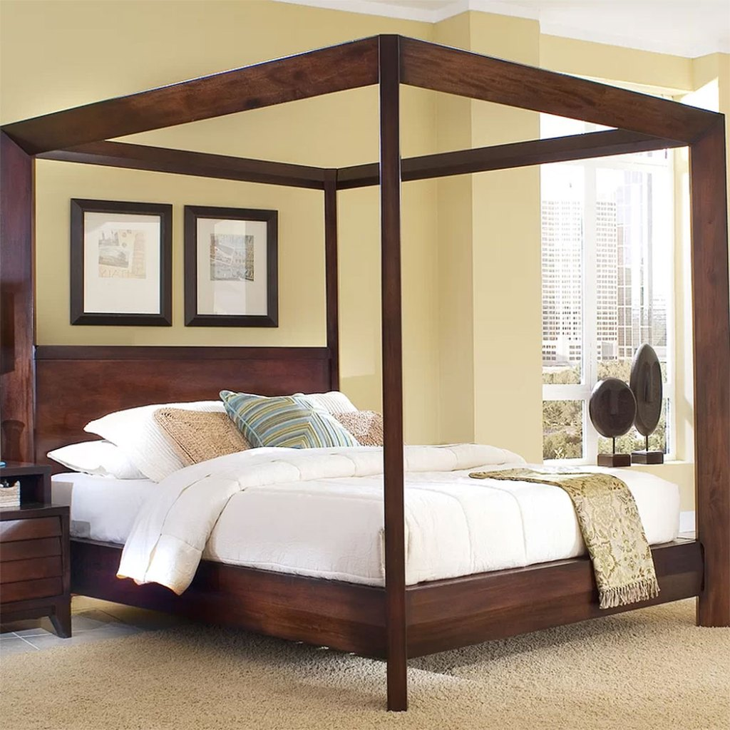 Modern Canopy Beds  Home Image Island Canopy Bed