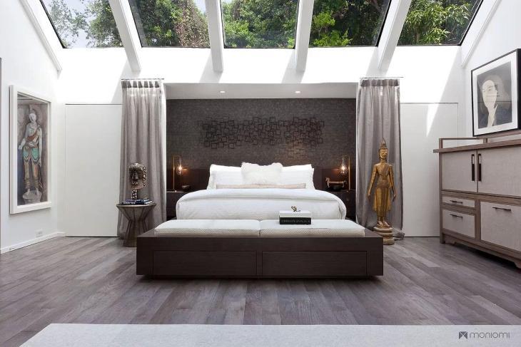 Modern Zen Bedroom