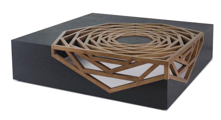 Modern Wood Coffee Tables   Oggetti   Hanako Coffee Table