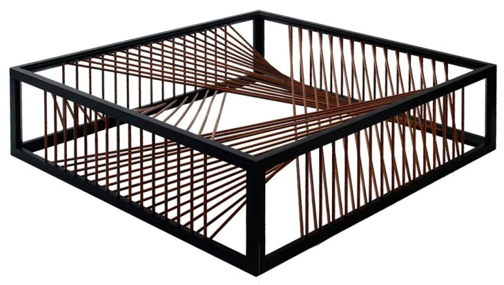 Modern Wood Coffee Tables | The Oggetti Un-Coffee Table