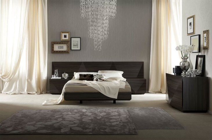 Modern Sophisticated Bedroom