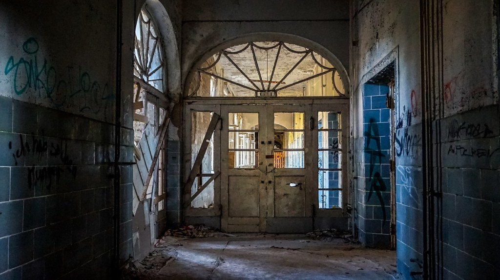 Abandoned Mansion Interior