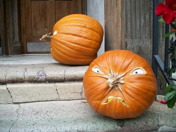 Halloween Pumpkin Carving Ideas | Angry Pumpkin