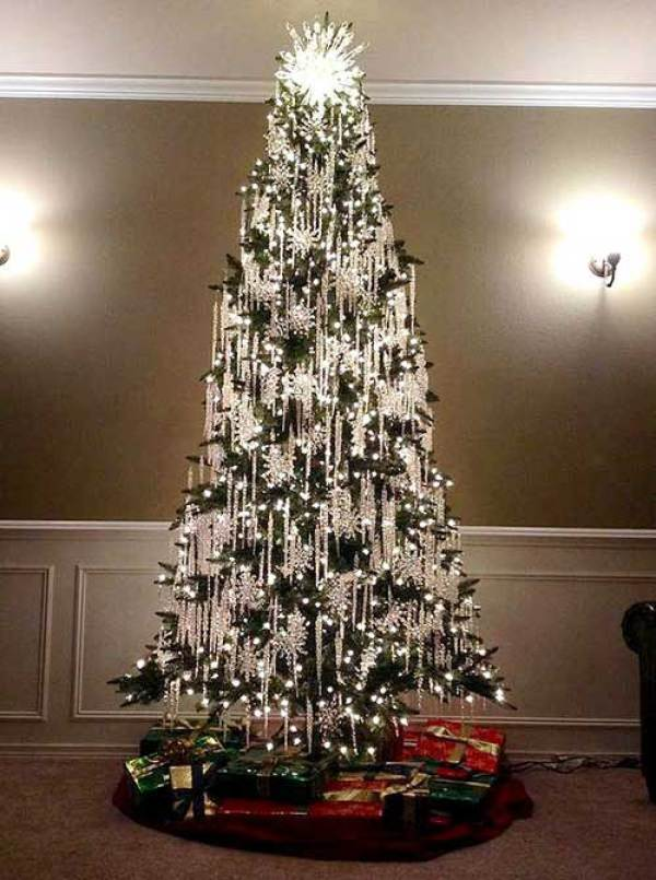 Beautiful Christmas Trees Icicle Tree