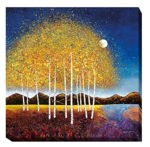 Evening Stream | Melissa Graves Brown | Gallery-Wrapped Canvas Art