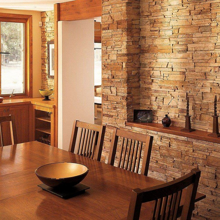 Hearty Stone Kitchen